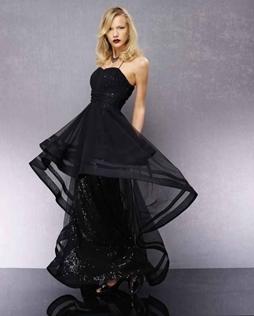 56a298f4d الفساتين التركية تمتاز بلمسة ناعمة لذلك تعشقها الكثير من السيدات، وبالطبع  لا يوجد أجمل من اللون الأسود في فساتين السهرة لتضفي على إطلالتك لمسة أنيقة  لا ...