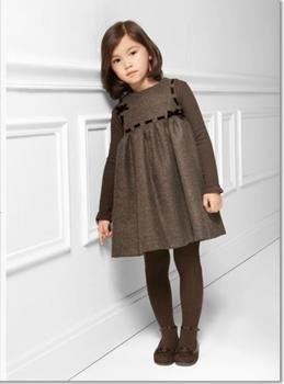 877e6f371 فساتين أطفال فرنسية للشتاء | نواعم