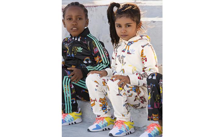 تعرّفي إلى تشكيلة adidas  المتميّزة الجديدة للأطفال
