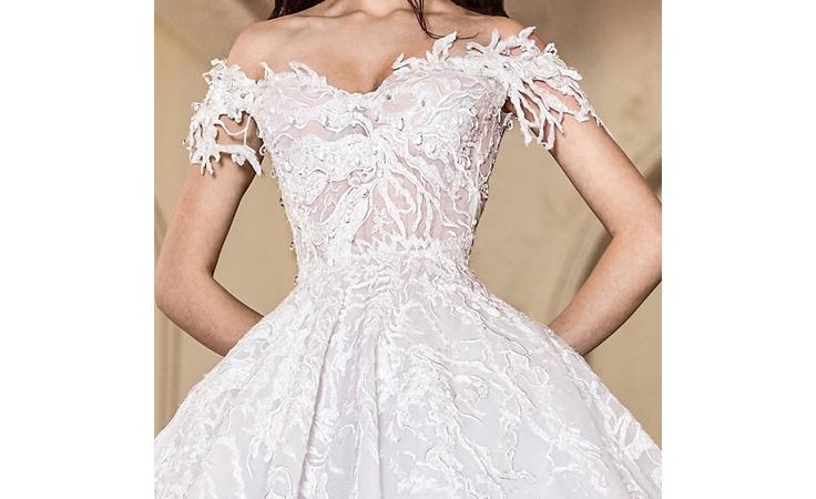 أنطوان القارح لنواعم: هذا هو فستان فرح وفاء الكيلاني!