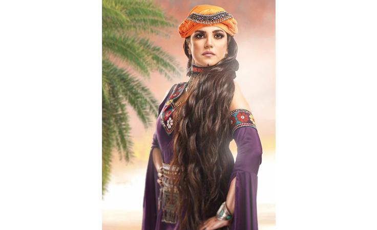 نواعم تكشف تفاصيل إطلالة درّة الغجرية في أحدث أعمالها