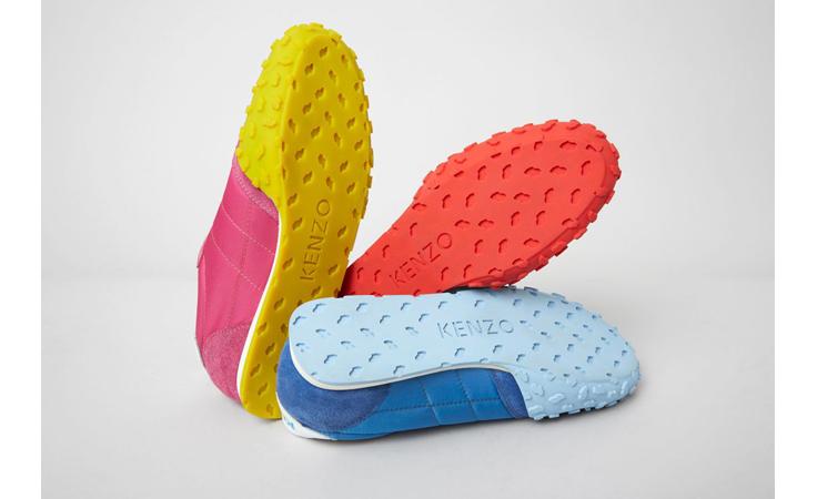 لوكك العملي المرتاح بهذا الحذاء المحدود من كينزو!