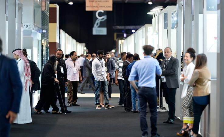 لا تفوّتي زيارة معرض دبي الدولي للمجوهرات 2017