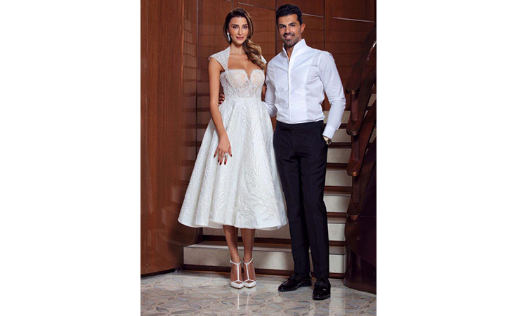المصمّم التركي رشيد: يستغرق منّي إنهاء فستان الزفاف ستة شهور