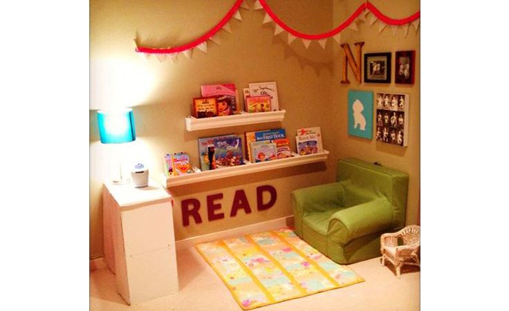 ليكن ركن القراءة في غرفة طفلك مشجّعاً ومحفّزاً