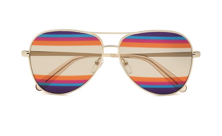 ستحبّين النظارات القزحية المستوحاة من أحد أشهر إبداعات Salvatore Ferragamo