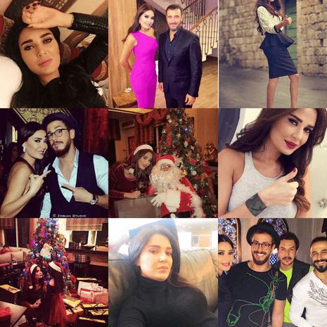 أفضل صور النجمات على إنستغرام لعام 2015