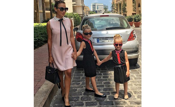 مدوّنات الموضة وأطفالهن.. حبّ ومرح وأناقة