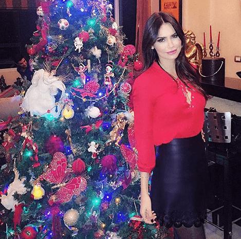 النجمات يحتفلن بالكريسماس على إنستغرام
