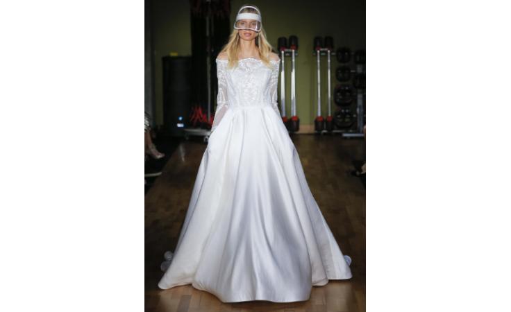 فساتين زفاف عصرية بلمسات أنثوية