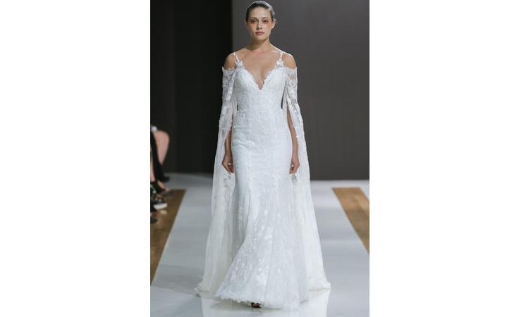 أجمل فساتين العروض الأولى من أسبوع نيويورك للموضة العرائسية