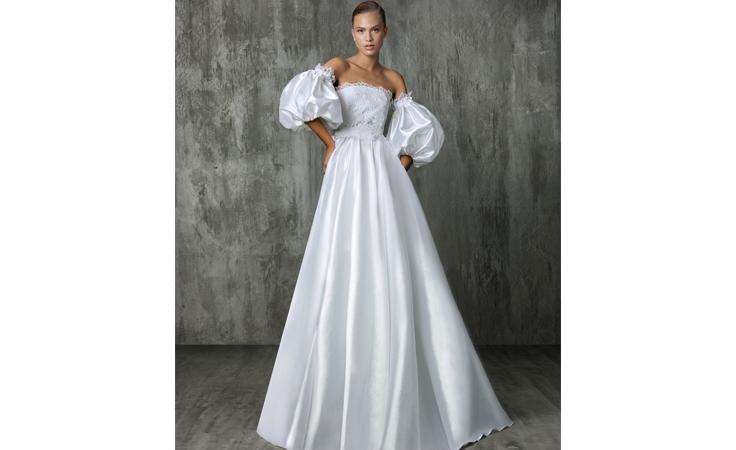 تعرّفي إلى أجمل الصيحات من أسبوع الموضة العرائسية لخريف 2018