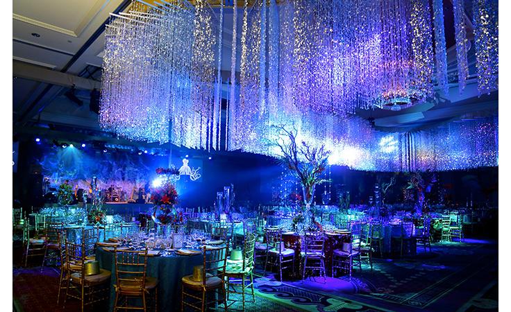أعماق البحر موضوع متميّز لحفل زفافك هذا الصيف