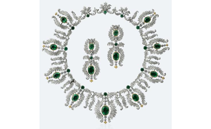 مجوهرات عرائسية بسحر الفنّ الإيطالي