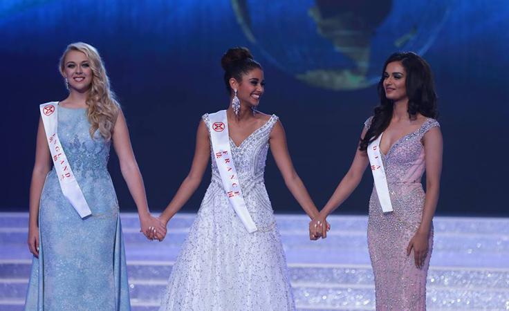 بالصور-ملكة جمال الهند تتربّع على عرش الجمال العالمي