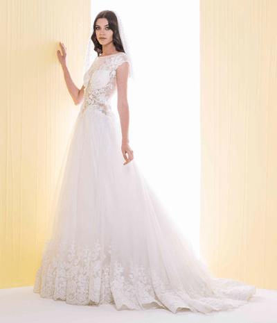6ce78696b ابتكارات راقية في فساتين زفاف سعيد قبيسي لعروس 2016 | نواعم