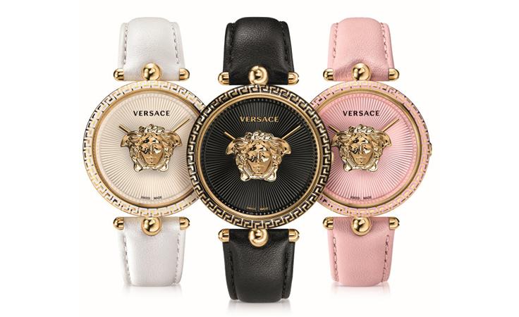 تألقي فخامة بهذه الساعة من فيرساتشي