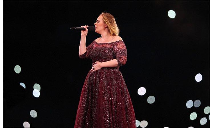 أديل تنتصر لجمهورها وتعنّف رجل أمن في حفلها الأخير بأستراليا