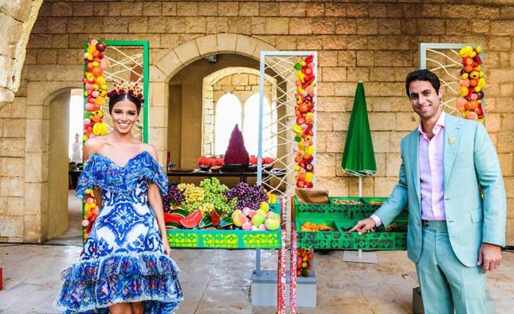 إليكِ تفاصيل الاحتفالات بزفاف لارا إسكندر عروس الموسم