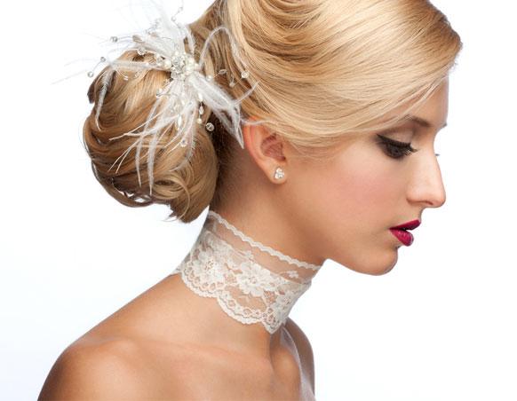 أربع خطوات أساسية لاختيار أكسسوار شعر العروس