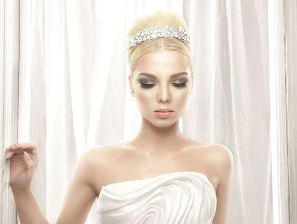 اختصاصي التجميل فادي قطايا يقدّم 3 إطلالات لعروس ربيع وصيف 2014