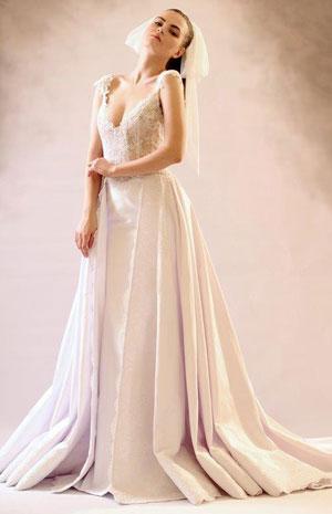 المصمّمة شارلوت ليشا لـنواعم: تتميّز عروسي بالطلّة الملكية