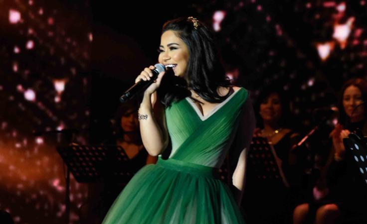 شيرين عبد الوهّاب بأجمل إطلالاتها في لبنان