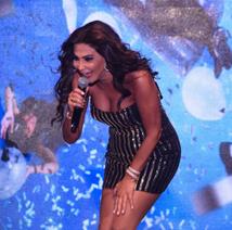 بالفيديو: إليسا تشعل مسرح حفل أعياد بيروت