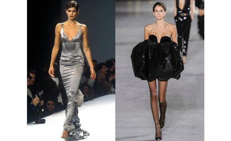 العارضات وبناتهن على منصّات الأزياء.. كايا غيربر ليست الأولى