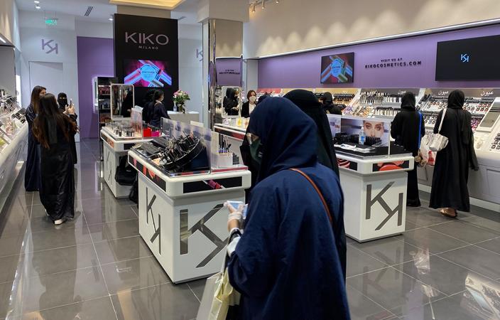 افتتاح أول متجر كيكو ميلانو في النخيل مول نواعم