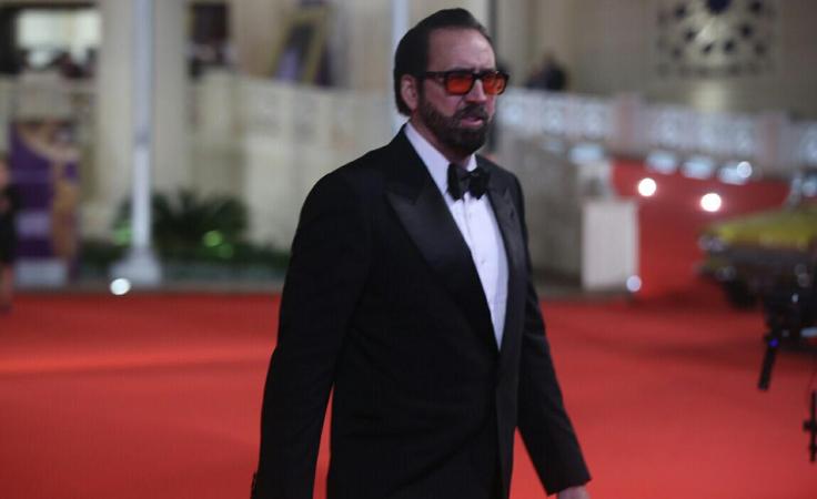 نيكولاس كيدج: لا أحب التمثيل ولهذا السبب جئت إلى القاهرة