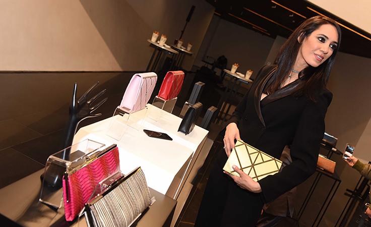 رولا بهنام تُطلق مجموعة حقائب يد Clutched