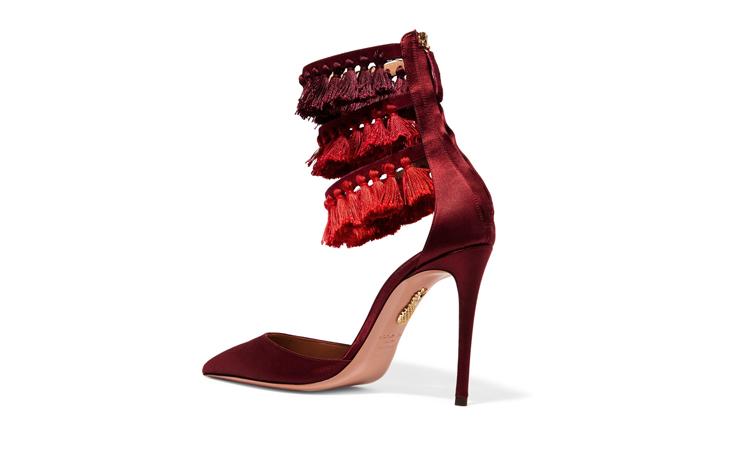 حذاء مرح ومفعم بالإثارة من AQUAZZURA + Claudia Schiffer