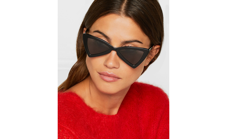 هل تجرئين على ارتداء نظارات سان لوران الجديدة؟