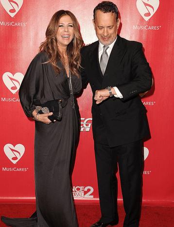 توم هانكس وزوجته.. حبّ عبر السنين
