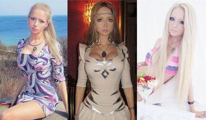 لو كانت فاليريا هي «الباربي الحقيقيّة»... فمقاساتها غير طبيعيّة!