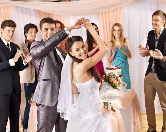 تجهيز حفلات الزواج فى عيد الكريسماس