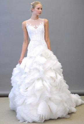 كيف تختارين الياقة المناسبة لفستان فرحك؟