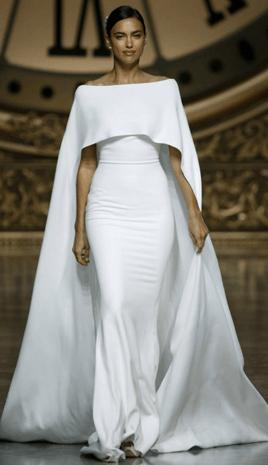 أجمل فساتين زفاف أسبوع برشلونة