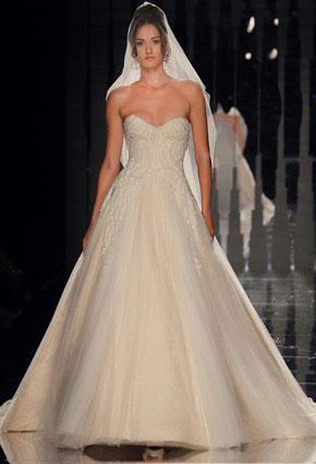 a6b365487b7a8 أيّ فستان زفاف يناسب جسمك؟
