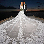 المصمم شربل زوي يبهر موناكو بفستان زفاف مبتكر