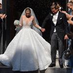 هكذا كان فستان زفاف فيكتوريا وريثة عرش سواروفسكي!