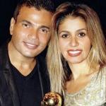 هل وقع الطلاق بين عمرو دياب وزوجته زينة عاشور؟!