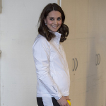 أجمل صورة قد ترينها لحمل كيت ميدلتون!