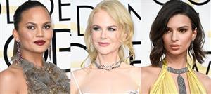 """""""نواعم"""" تختار أفضل 10 إطلالات جمالية في حفل Golden Globes"""