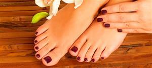 علاجات منزلية تخلّصكِ من فطريات أظافر قدميكِ