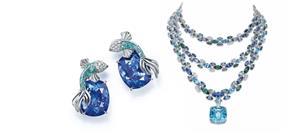 مجوهرات تيفاني تختصر جمال الطبيعة في مجموعة Blue Book