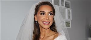 """هالة عجم تكشف لـ""""نواعم"""" تفاصيل مكياج العروس فرح أسمر"""