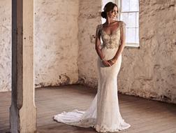 فساتين زفاف لعروس تهوى النمط البوهيمي في الأزياء