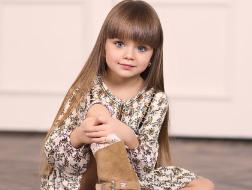 تعرّفي إلى أجمل طفلة في العالم